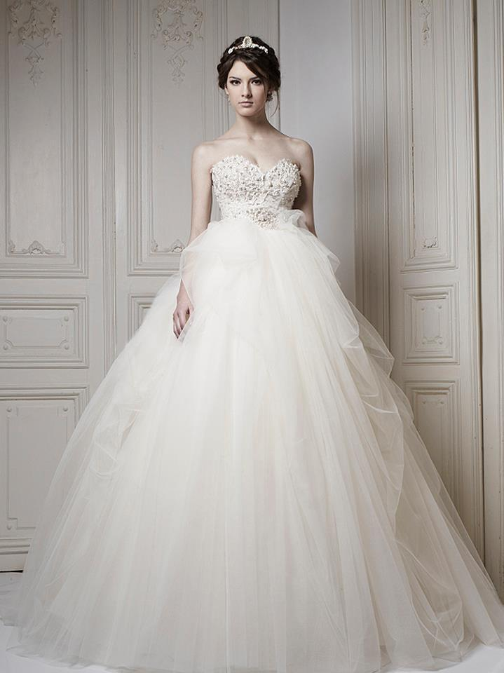 Ersa Atelier Wedding Dress 2013 Bridal 1