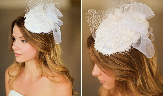 Romantic wedding hair accessories by Alice Padrul 4