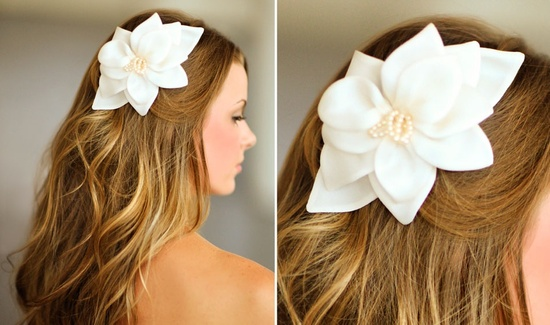 Romantic wedding hair accessories by Alice Padrul 5