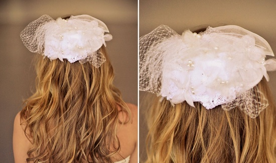 Romantic wedding hair accessories by Alice Padrul 7