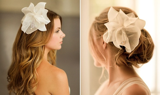 Romantic wedding hair accessories by Alice Padrul 2