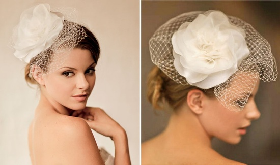 Romantic wedding hair accessories by Alice Padrul 3