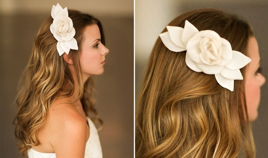 Romantic wedding hair accessories by Alice Padrul 6