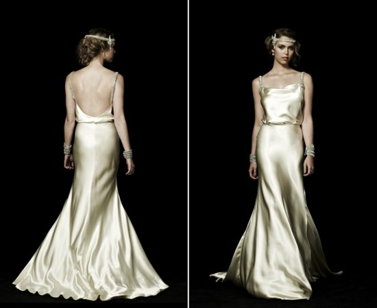 backless wedding dresses for vintage brides 3