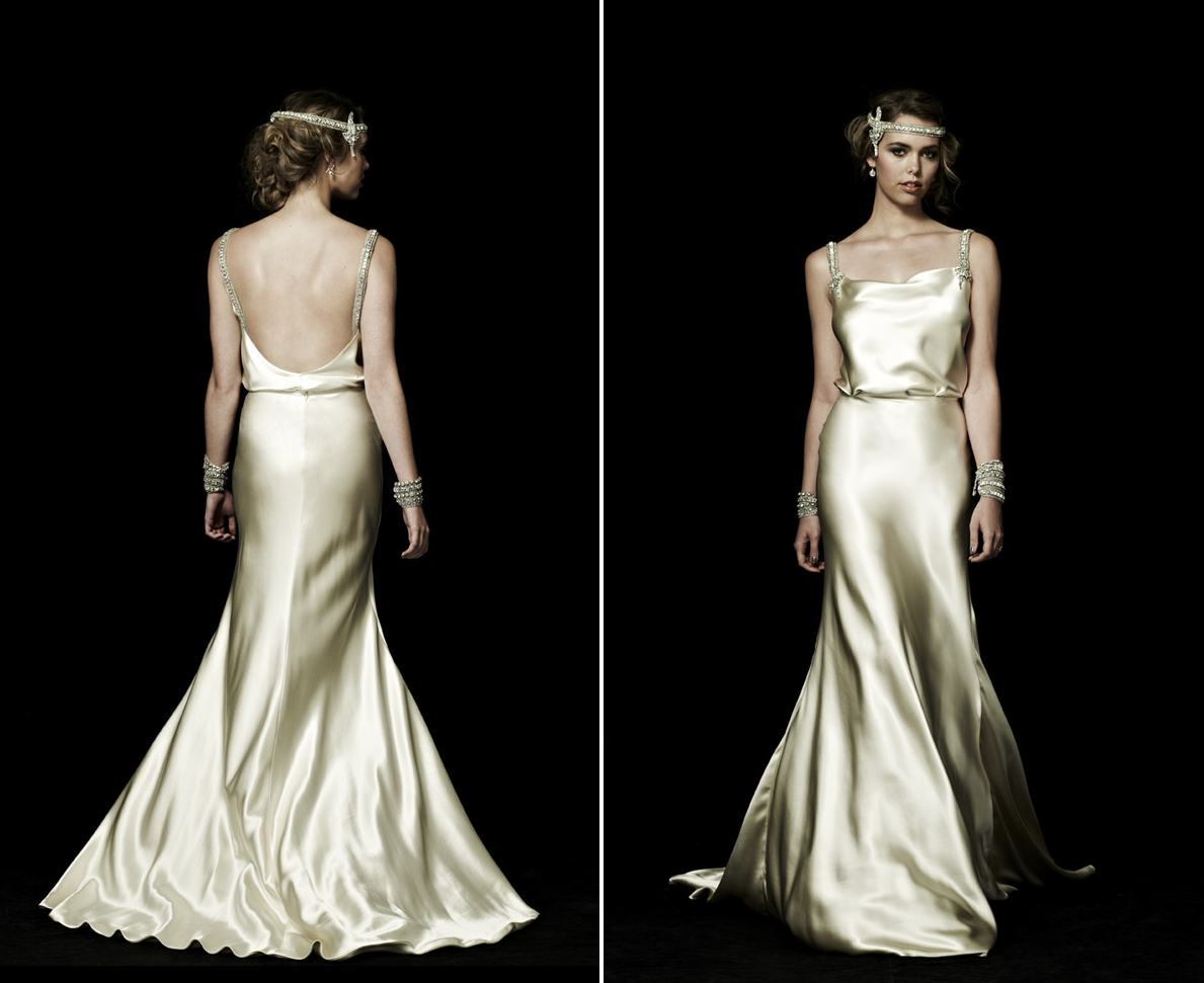 backless wedding dresses for vintage brides 3 ForVintage Backless Wedding Dresses