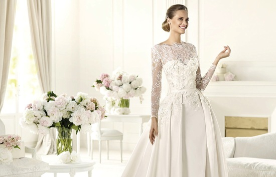 2013 Elie Saab wedding dress for Pronovias MONET