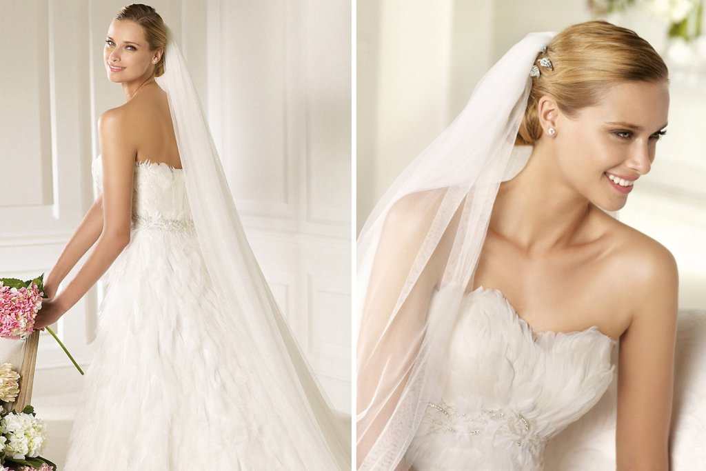 2013 Wedding Gowns by Pronovias Fashion Bridal Collection 1