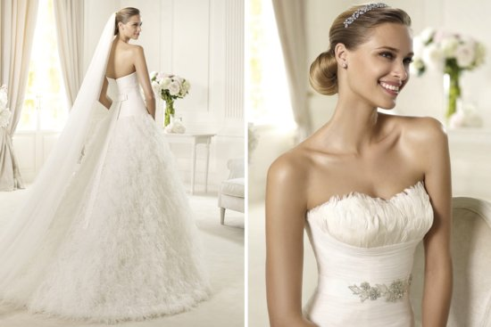 2013 Wedding Gowns by Pronovias Dreams Bridal Collection 2