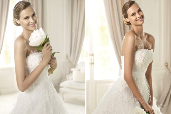 2013 Wedding Gowns by Pronovias Dreams Bridal Collection 3