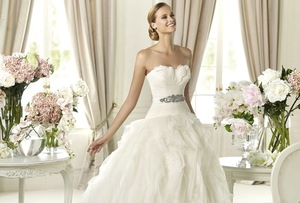 photo of Insanely Beautiful Wedding Gowns from Pronovias, 2013