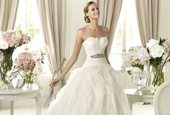 2013 wedding dress Pronovias Dreams Benicarlo