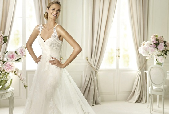 2013 wedding dress by pronovias costura bridal collection Petunia