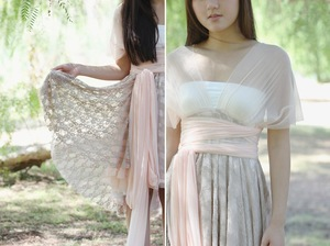 Convertible Dress on Photo Of 2013 Wedding Trend Spotlight  Swoon Worthy Neutrals