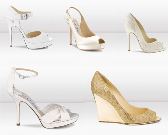 Jimmy Choo Wedding Shoes 2013 Bridal Collection