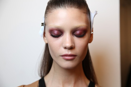 Wedding Makeup Inspiration off the catwalk Milan Fashion Week 4