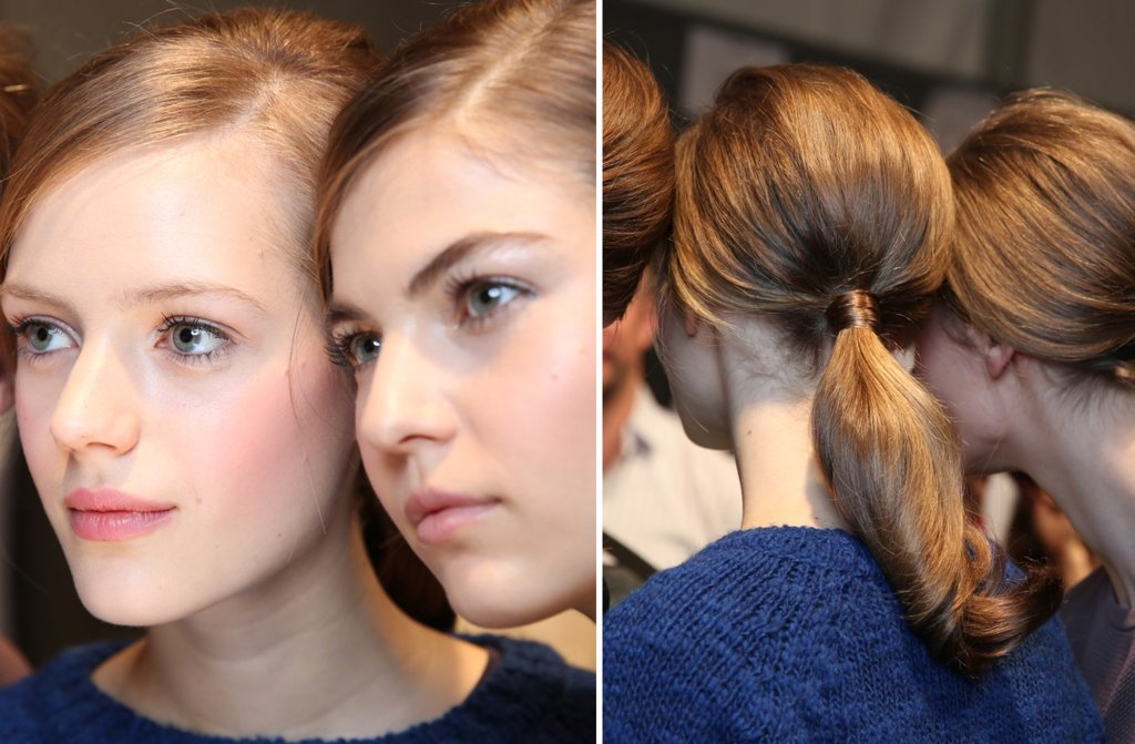 Moschino Fall 2013 Wedding Hair Makeup Inspiration 1