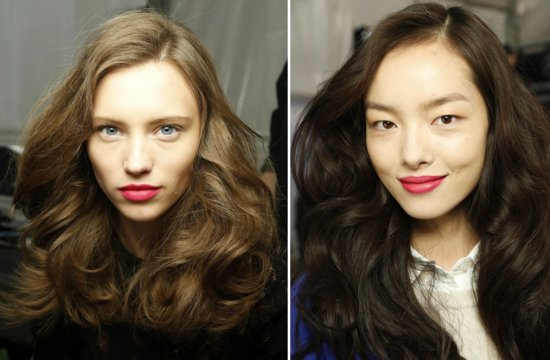 DVF Fall 2013 Wedding Hair Makeup Inspiration