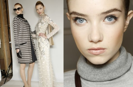 Temperley London Fall 2013 Wedding Hair Makeup Inspiration