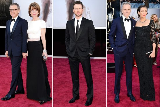photo of The Tuxes of the 2013 Oscars