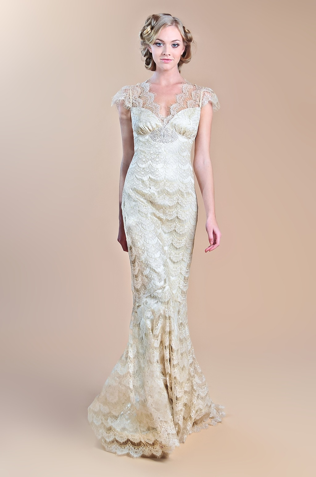 2013 wedding dress claire pettibone windsor rose collection eloquence