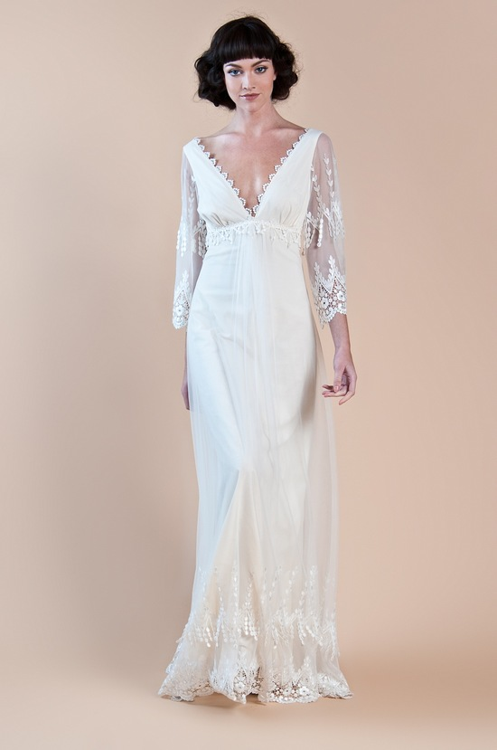 2013 wedding dress claire pettibone windsor rose collection grace2