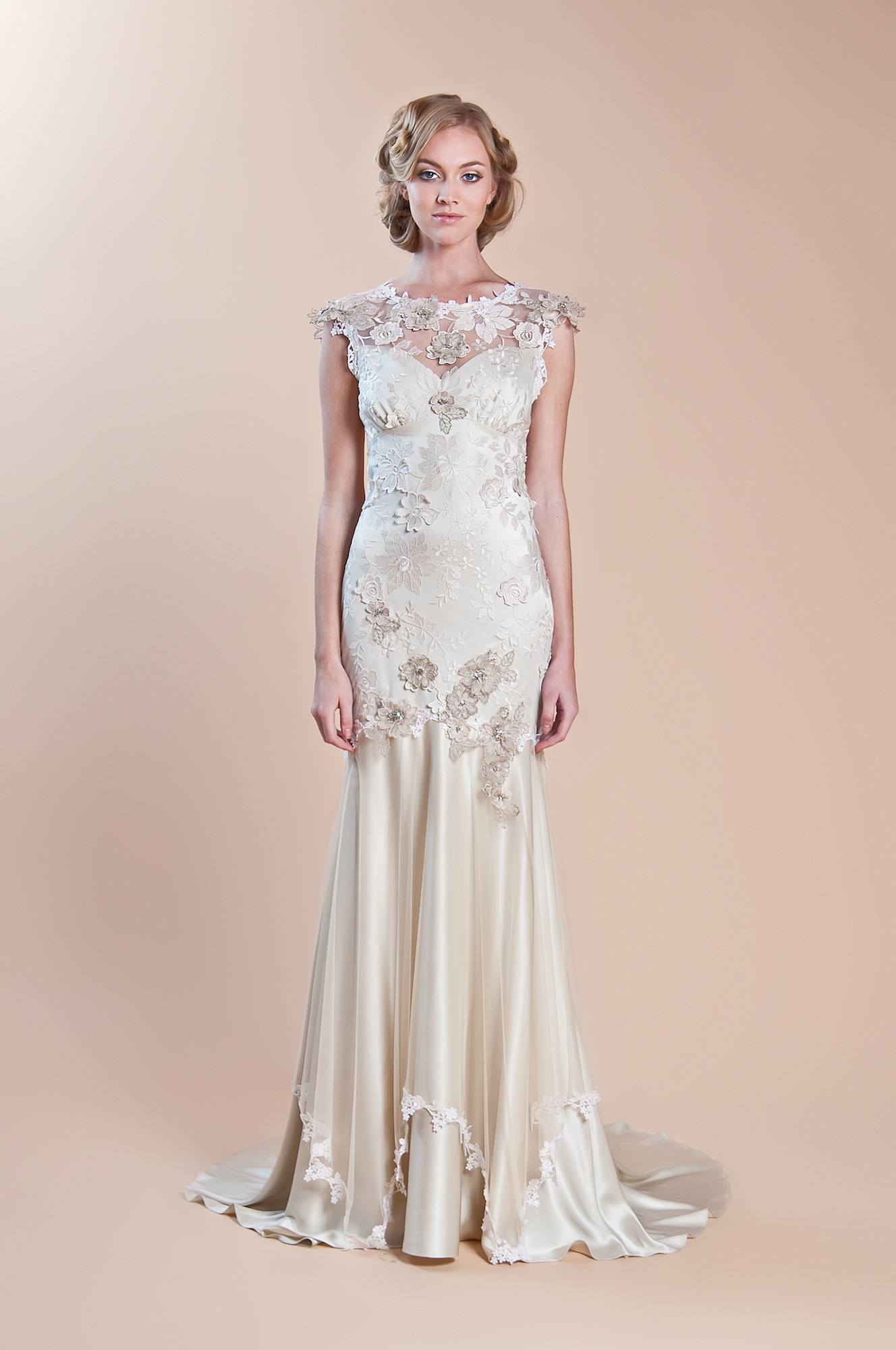 2013 wedding dress claire pettibone windsor rose for Windsor wedding dresses