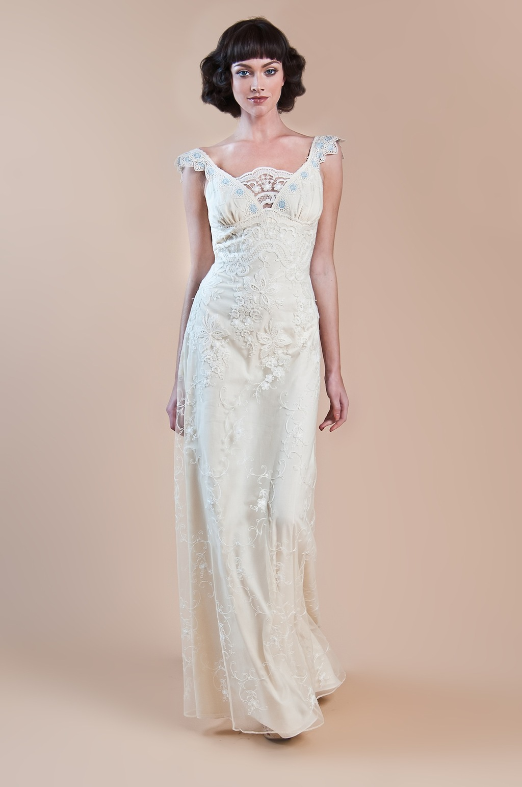 2013 wedding dress claire pettibone windsor rose collection waverly2