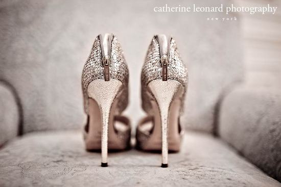 gold jimmy choo sky high wedding shoes