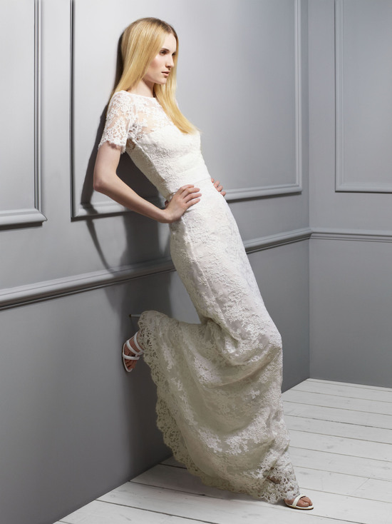 Issa Lace Wedding Dress 2013 Exclusive Bridal Designer Collection from Net a Porter