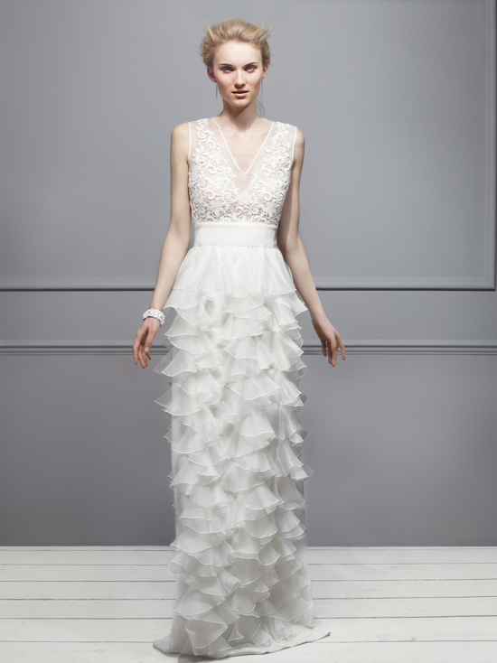Giambattista Valli Wedding Dress 2013 Exclusive Bridal Designer Collection from Net a Porter