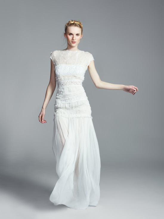Nina Ricci Wedding Dress 2013 Exclusive Bridal Designer Collection from Net a Porter
