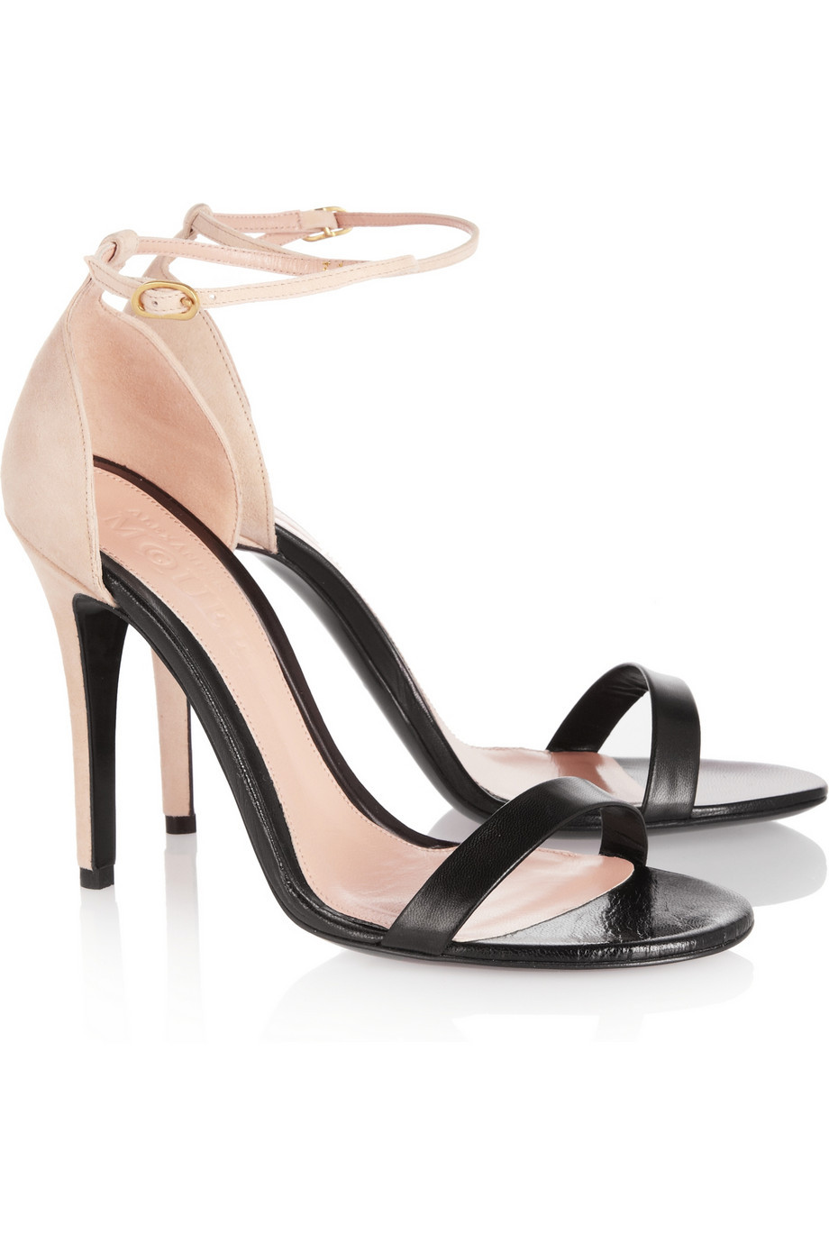 Black Strappy Sandals: Strappy Black