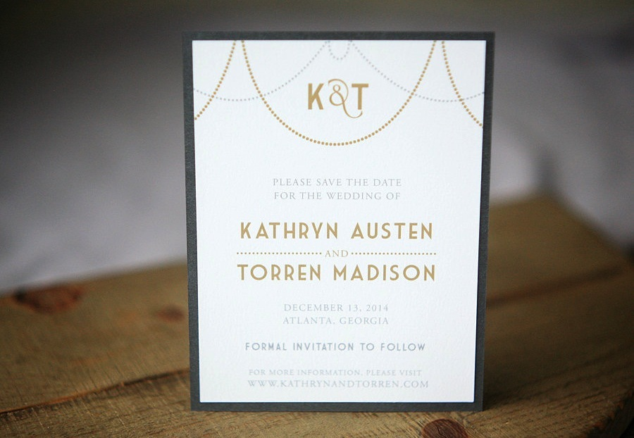 Art-deco-inspired-gold-silver-white-wedding-save-the-date.full