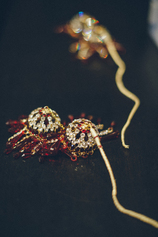 Gold and Ruby Bridal Jewelry for Indian Wedding