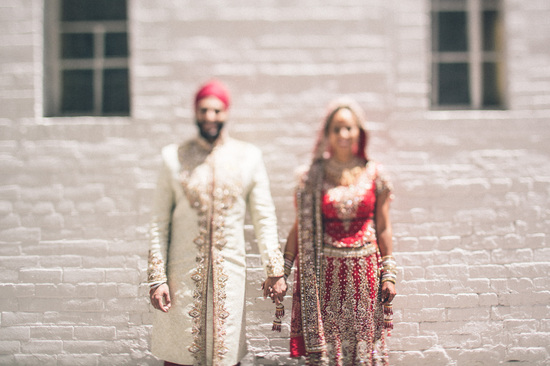 Unfocused wedding portrait artistic photography ideas