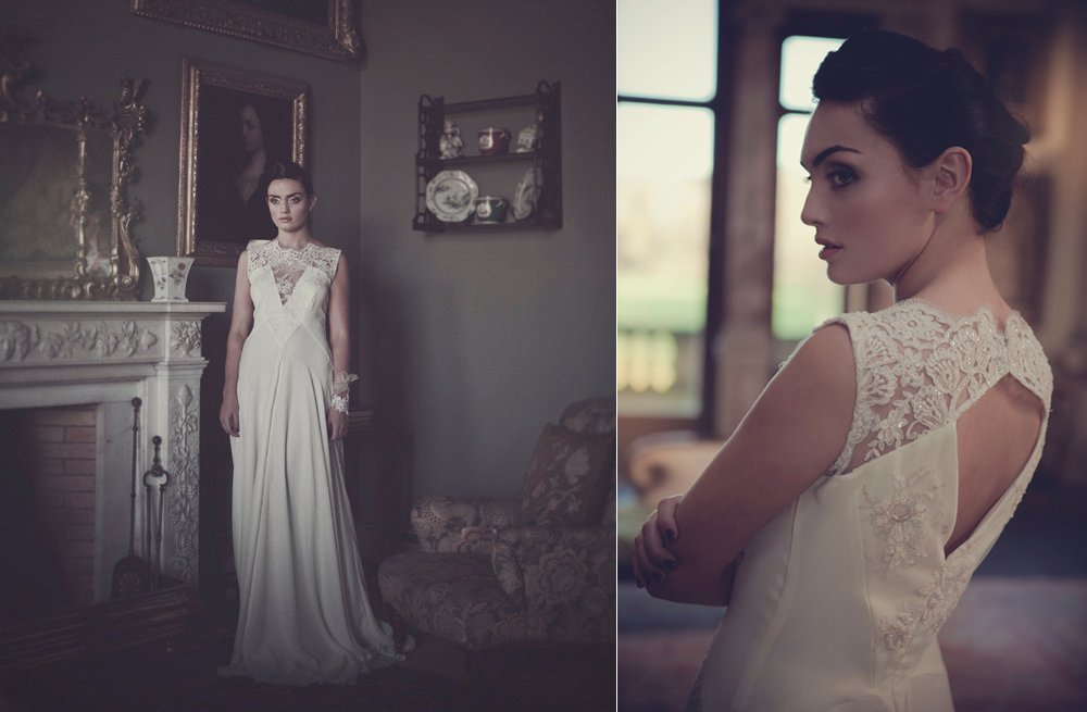 Handmade-lace-silk-wedding-dress-with-illusion-neckline.full