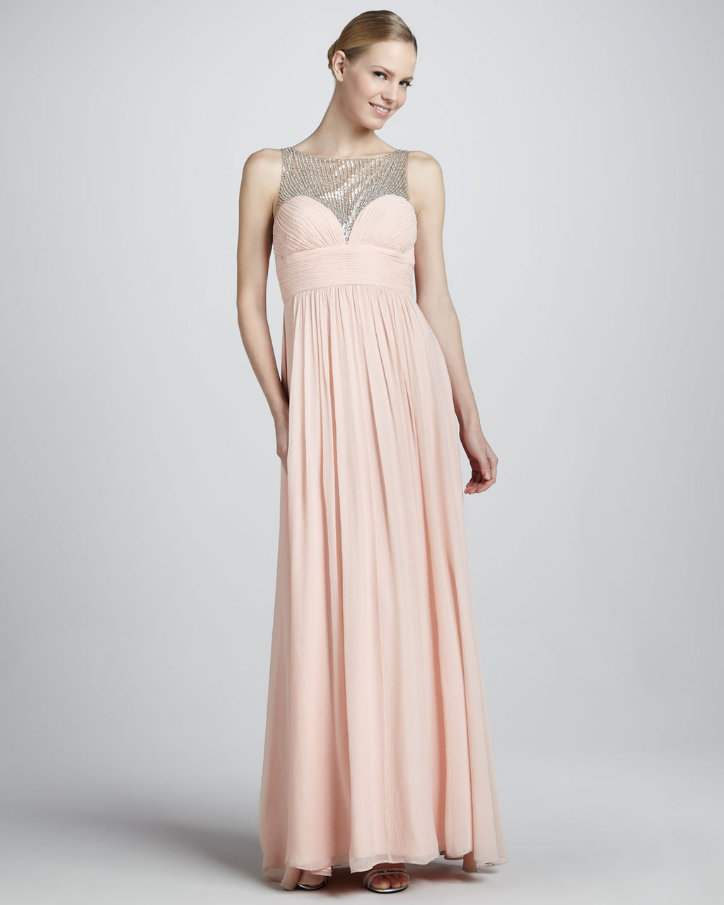Blush-pink-chiffon-gown-for-bridesmaids-or-mob.full