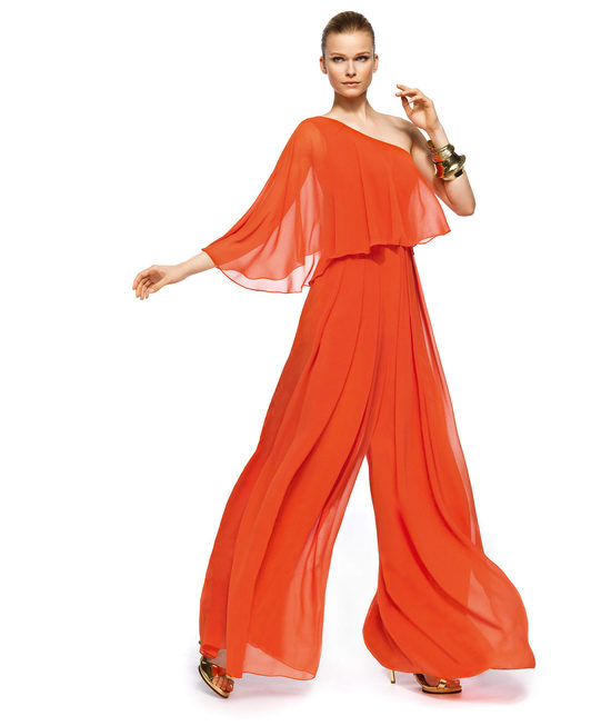 Orange MOB attire pants suit