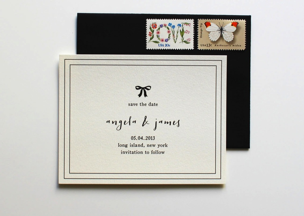 Classic-ivory-and-black-wedding-save-the-date.full