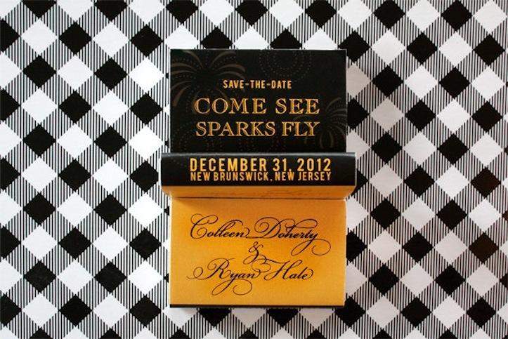 Gold-and-black-matchbox-wedding-save-the-date.full