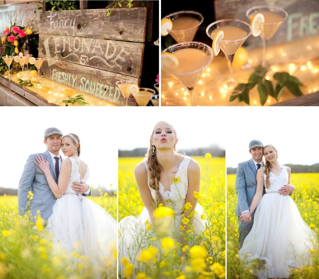 Outdoor-romantic-wedding-with-bright-yellow-and-pink-flowers-3.full