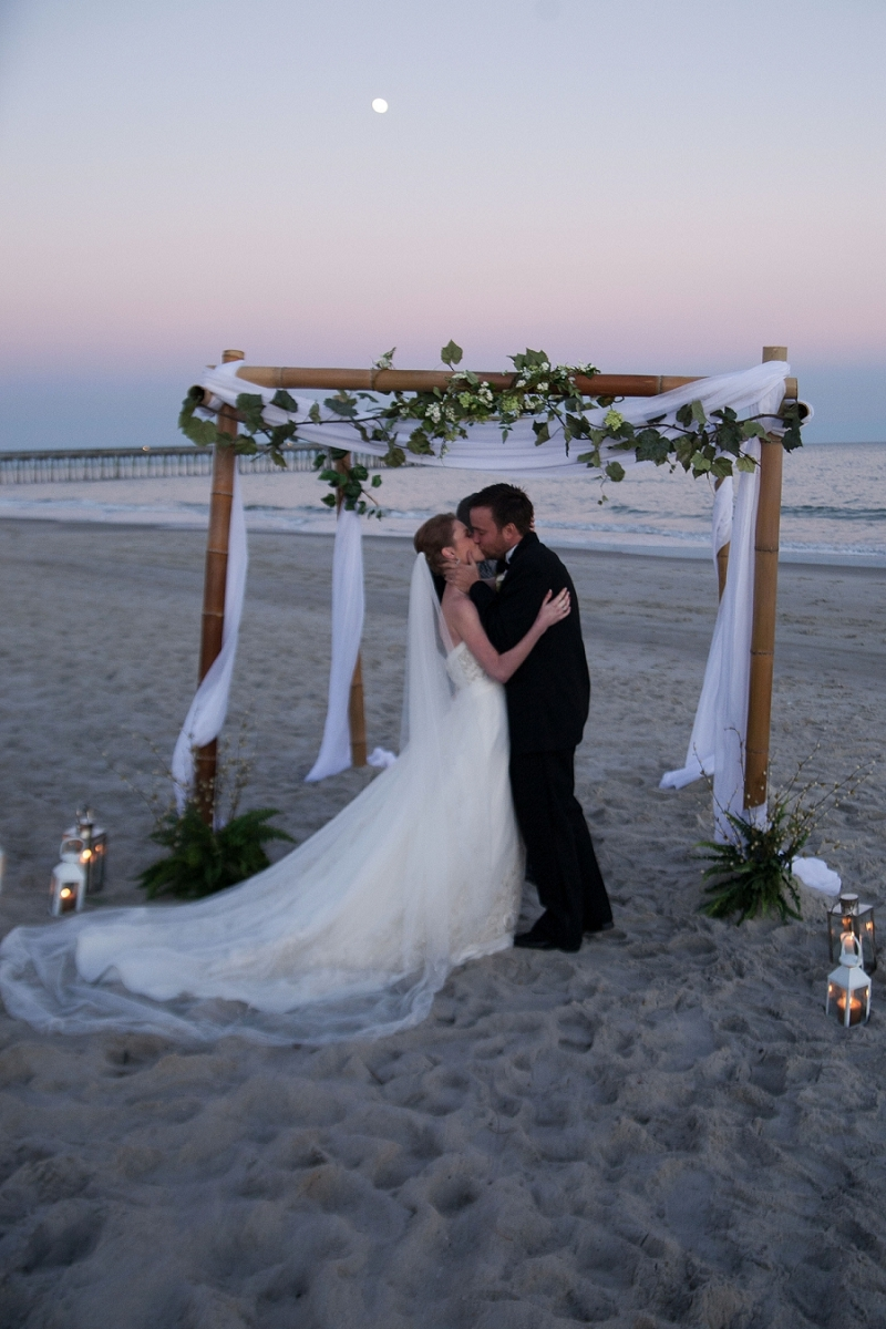 Myrtle Beach Wedding Dresses : Elopement wedding myrtle beach photos mercedes