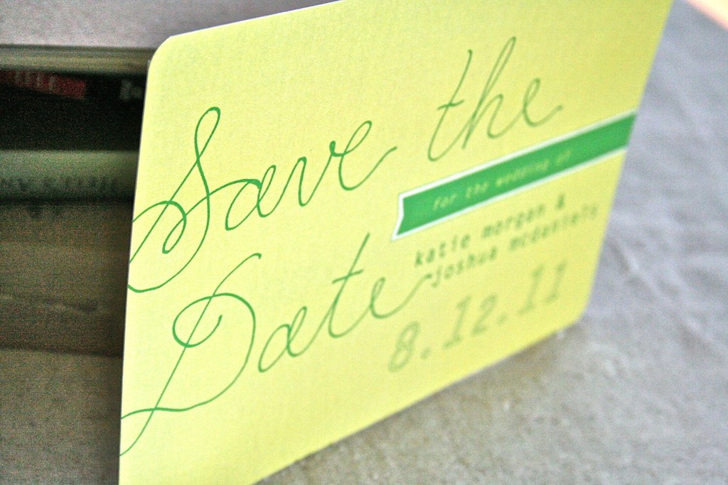 Vintage-inspired-yellow-and-green-wedding-save-the-date.full