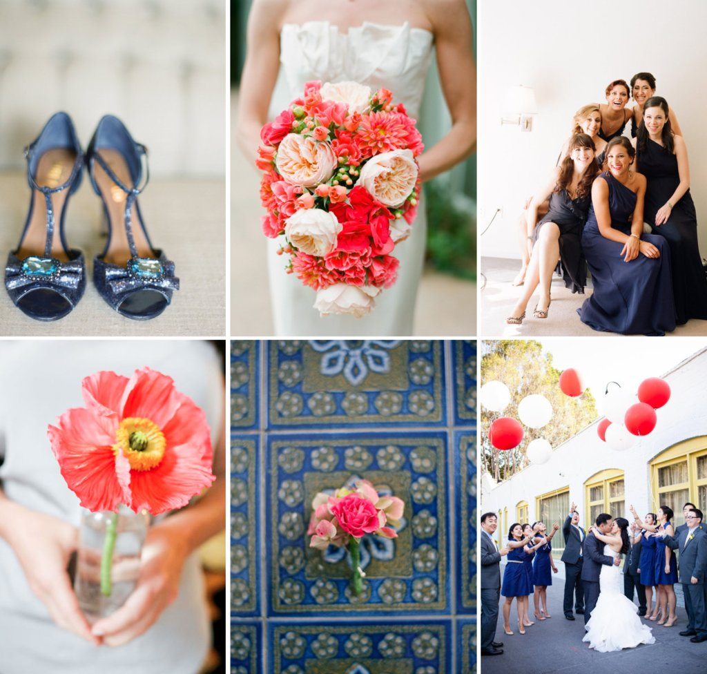 Navy-and-neon-coral-wedding-color-inspiration.full
