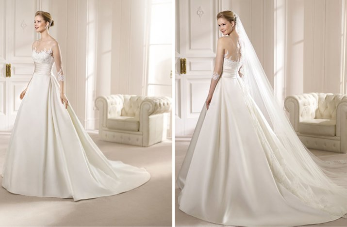 Beautiful 2013 Wedding Gowns from San Patrick' Ideabook by onewed ...