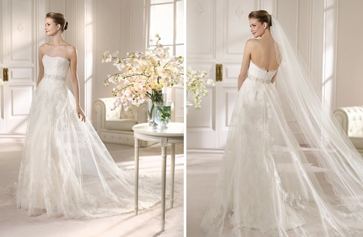San Patrick Wedding Dress 2013 Bridal Costura collection Alud 1