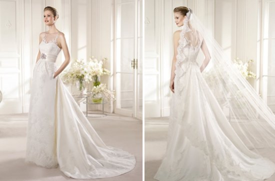 2013 Wedding Dress San Patrick Bridal Costura collection Ana