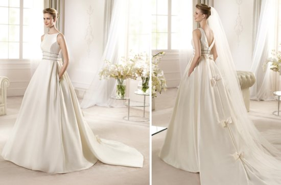 2013 Wedding Dress San Patrick Bridal Costura collection Angora