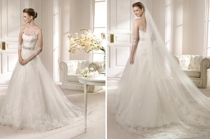 2013 Wedding Dress San Patrick Bridal Costura collection Amada