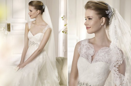 Lacy San Patrick Wedding Dresses 2013 Bridal